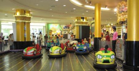 Автодром - развлекательное оборудование для детей