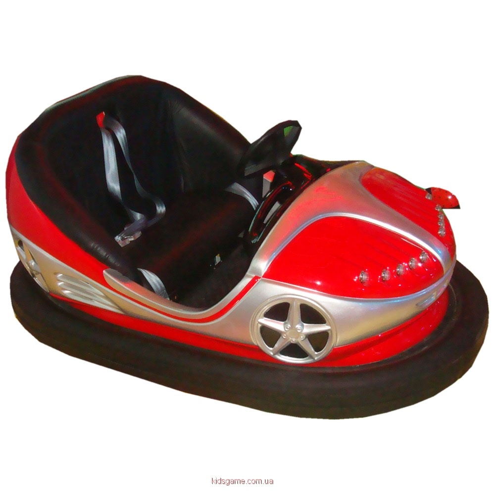 Электромобили Спринтер — Автомашинки с бампером для автодрома