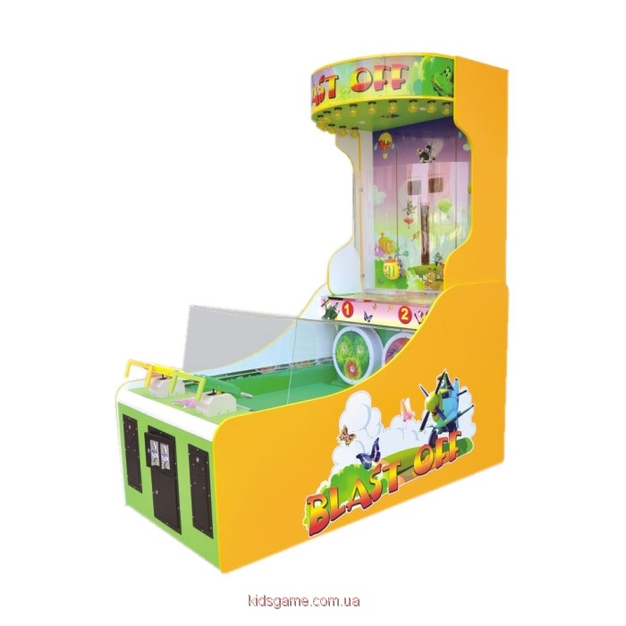 Развлекательный автомат редемпшн с выдачей билетов Бластер