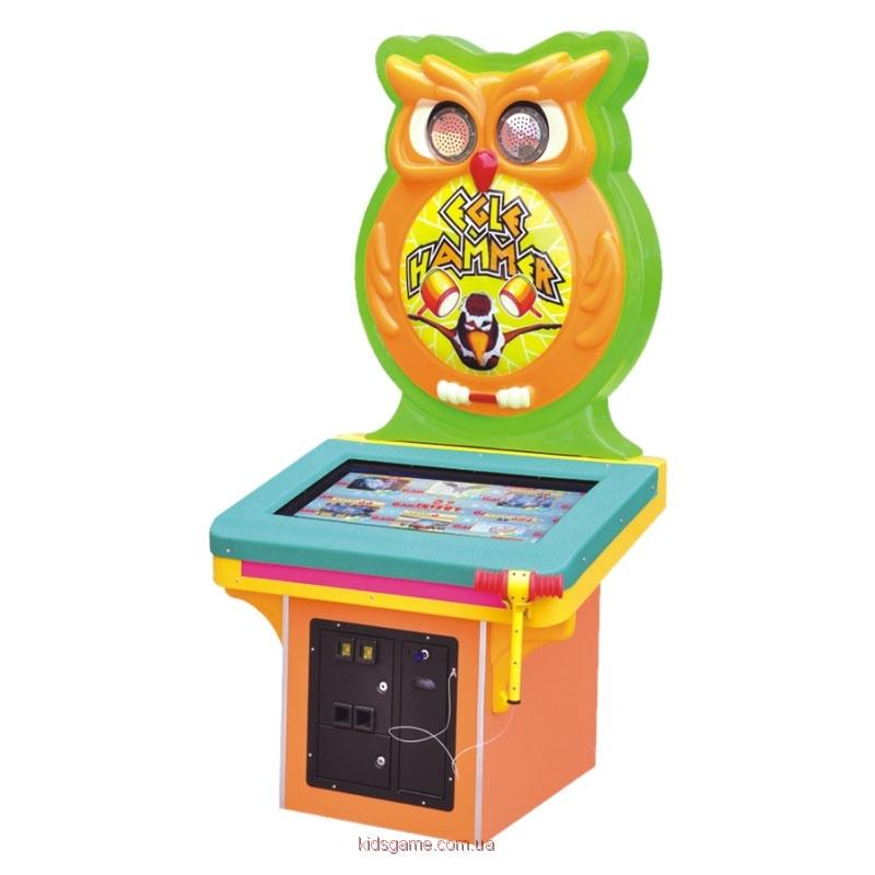 Развлекательный автомат редемпшн с выдачей билетов колотушка Орел