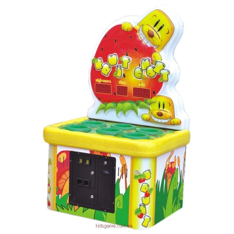 Развлекательный автомат с выдачей билетов колотушка Кроты