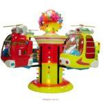 детская карусель Вертолеты