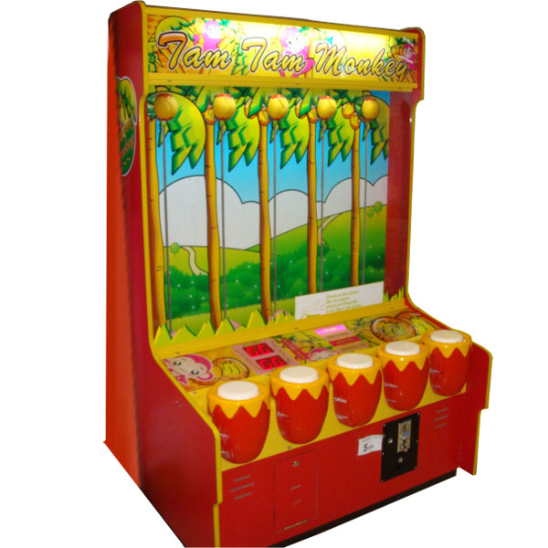 Развлекательный автомат редемпшн с выдачей билетов Обезьянки