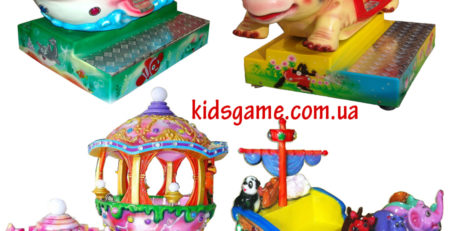 Детские качалки — аттракционы для детей