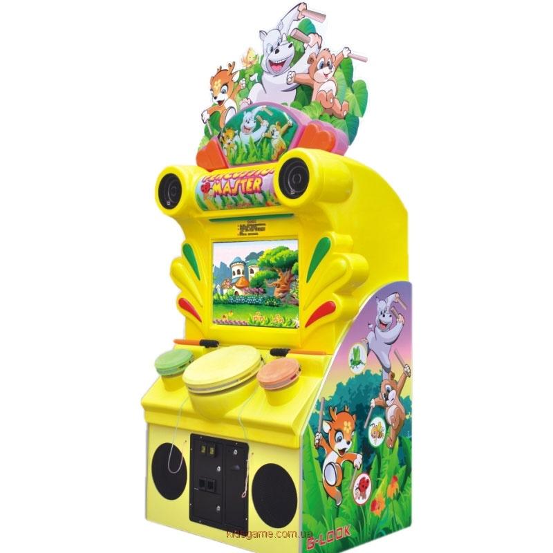 Развлекательный автомат редемпшн с выдачей билетов Барабанщик