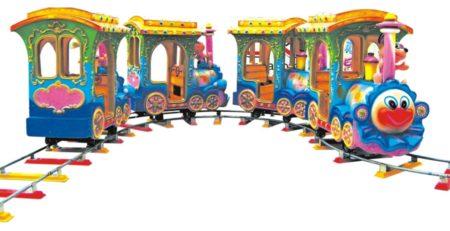 детская железная дорога — поезд Улыбка