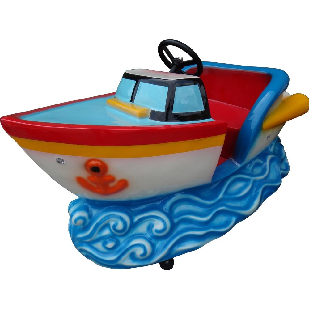 Аттракцион — детская качалка Кораблик