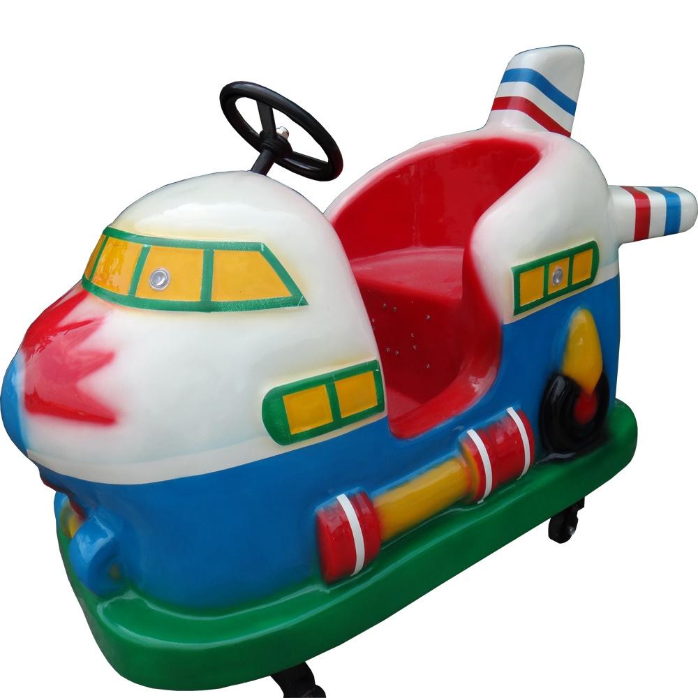 Аттракцион — детская качалка Самолетик
