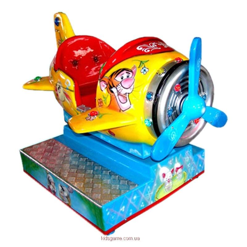 детская премиум-качалка Самолетик