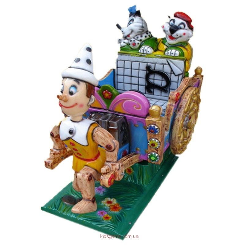 детская премиум-качалка Пиноккио