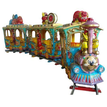 детская железная дорога — поезд Цирк