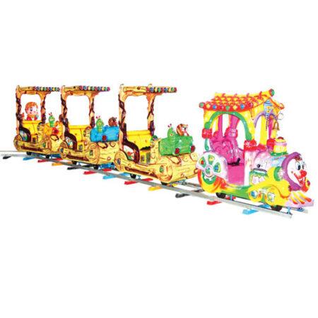 детская железная дорога — поезд Пьеро