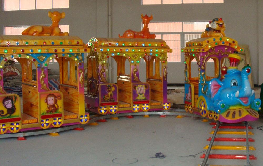 детская железная дорога — поезд Зоопарк