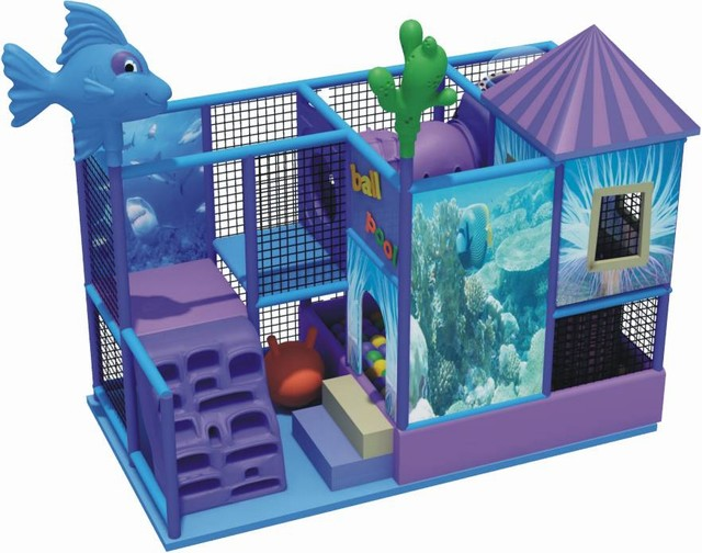 Детская игровая комната (лабиринт) 3