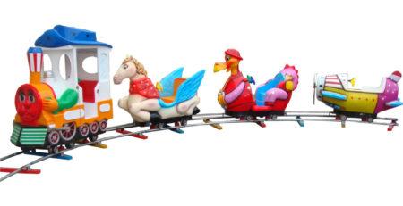 детская железная дорога — поезд Микс