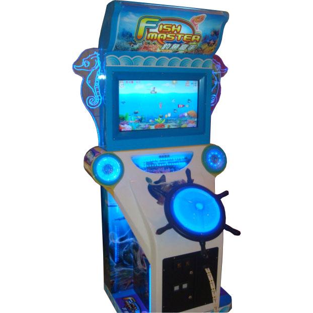 Развлекательный автомат редемпшн с выдачей билетов Рыбак