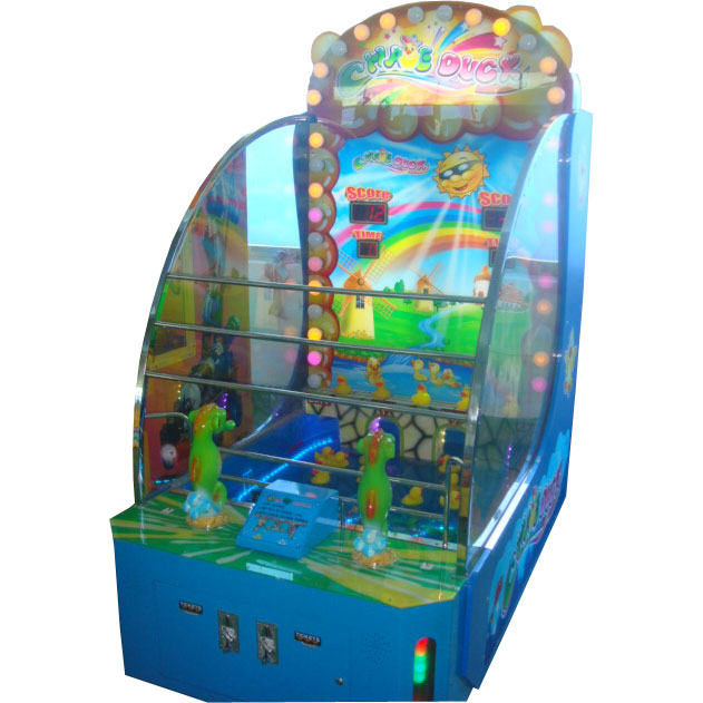 Развлекательный автомат редемпшн с выдачей билетов Уточки