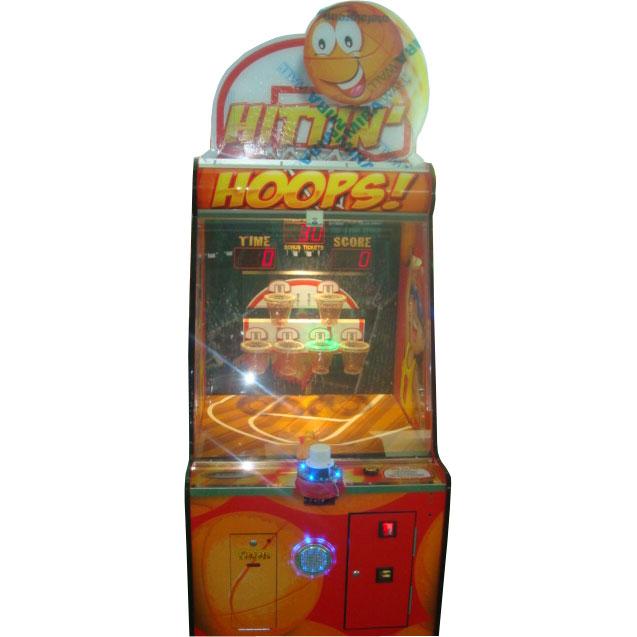 Развлекательный автомат редемпшн с выдачей билетов баскетбол Чемпион