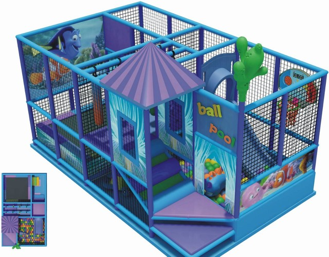 Детская игровая комната (лабиринт) 5