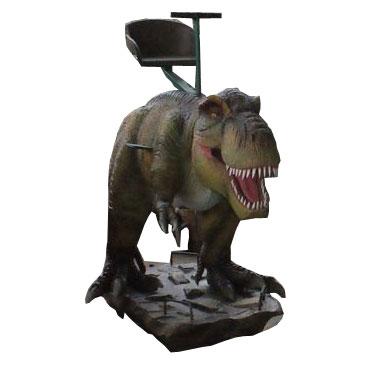 Аттракцион для детей качалка-динозавр Тиранозавр Рекс
