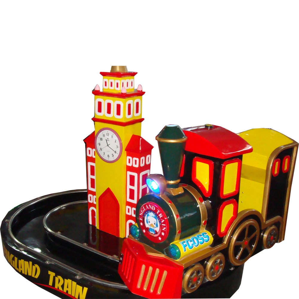детская премиум-качалка Классический паровозик