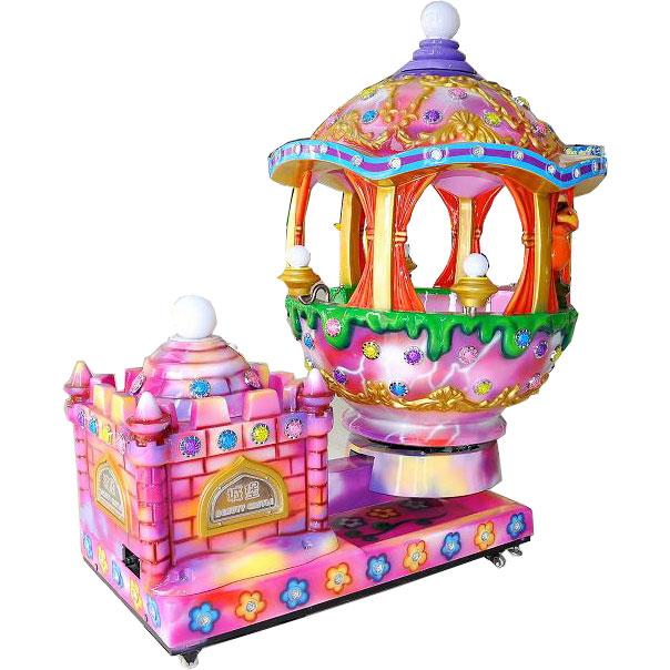 детская премиум-качалка Волшебный замок