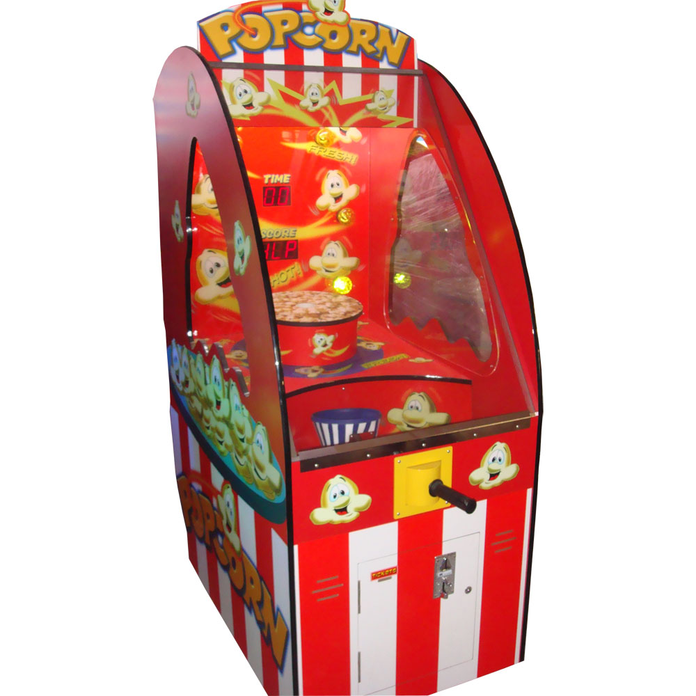 Развлекательный автомат редемпшн с выдачей билетов Попкорн