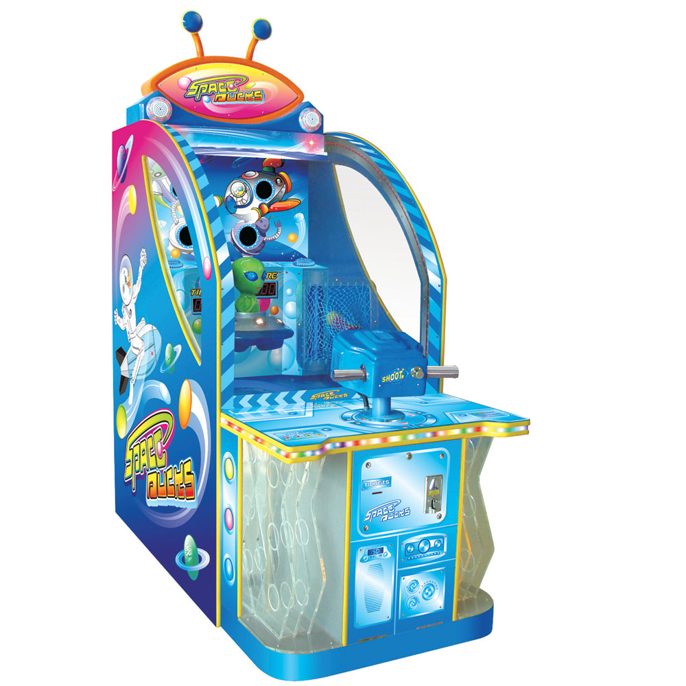 Развлекательный автомат редемпшн с выдачей билетов Пришельцы