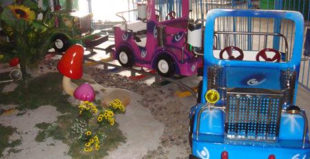 детская железная дорога — поезд Трек машины