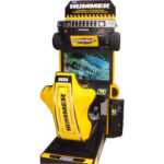 Авто симулятор Hummer 32″ игровые развлекательные автоматы