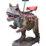 Аттракцион для детей качалка-динозавр Карнотавр