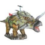 Аттракцион для детей качалка-динозавр Стиракозавр