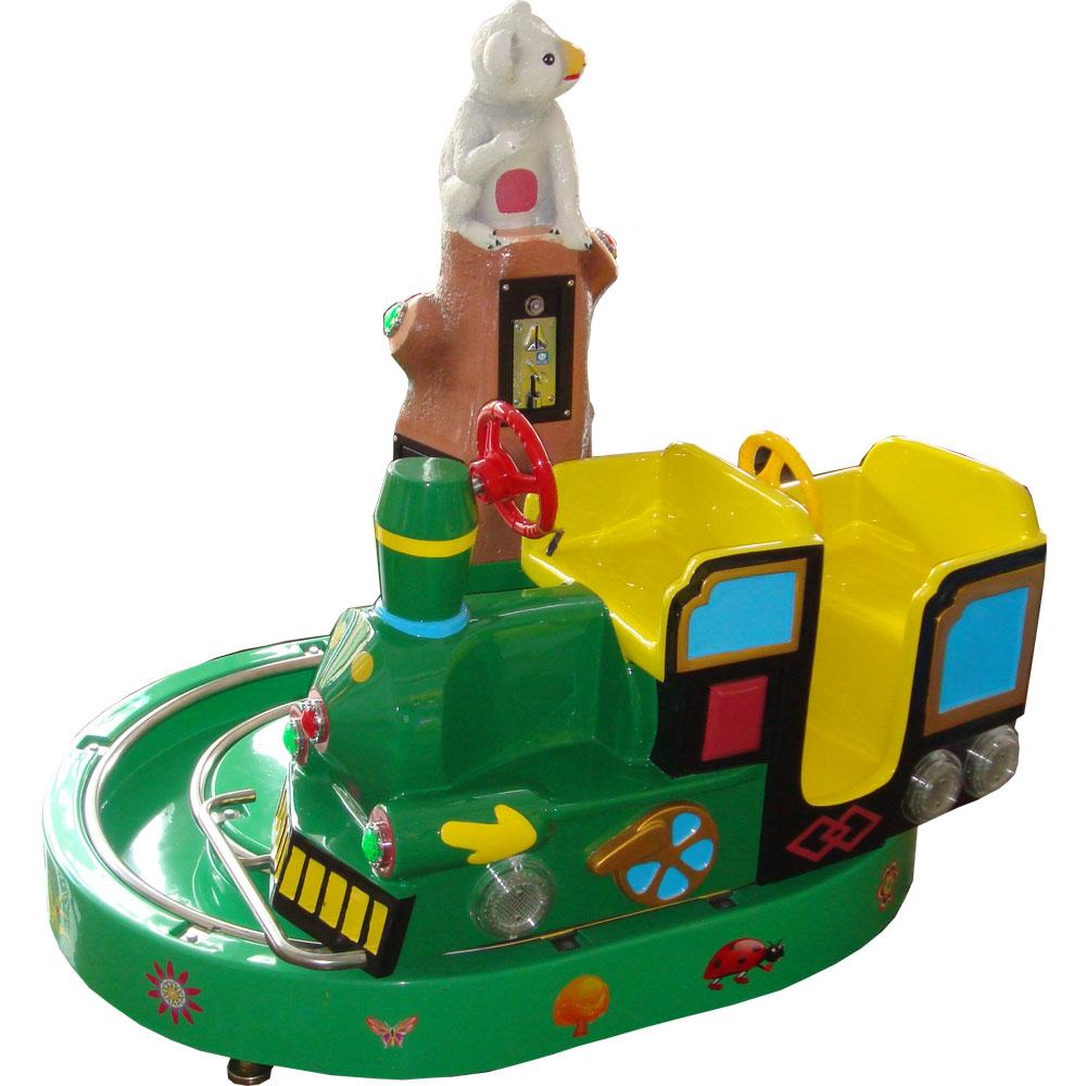 детская премиум-качалка Классический паровозик 2