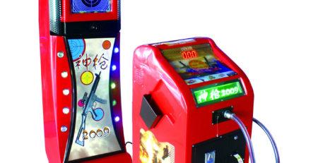 Оборудование для детских аттракционов – стрелковый тир Развлекательный автомат Тир