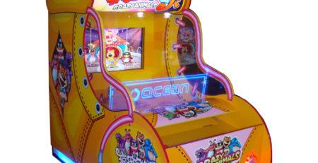 Развлекательный автомат редемпшн с выдачей билетов Крейзи звери