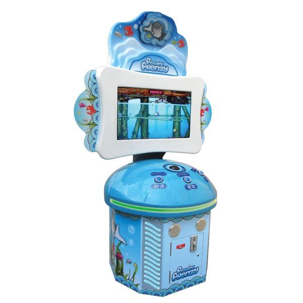 Развлекательный автомат редемпшн с выдачей билетов Рыба-хищник