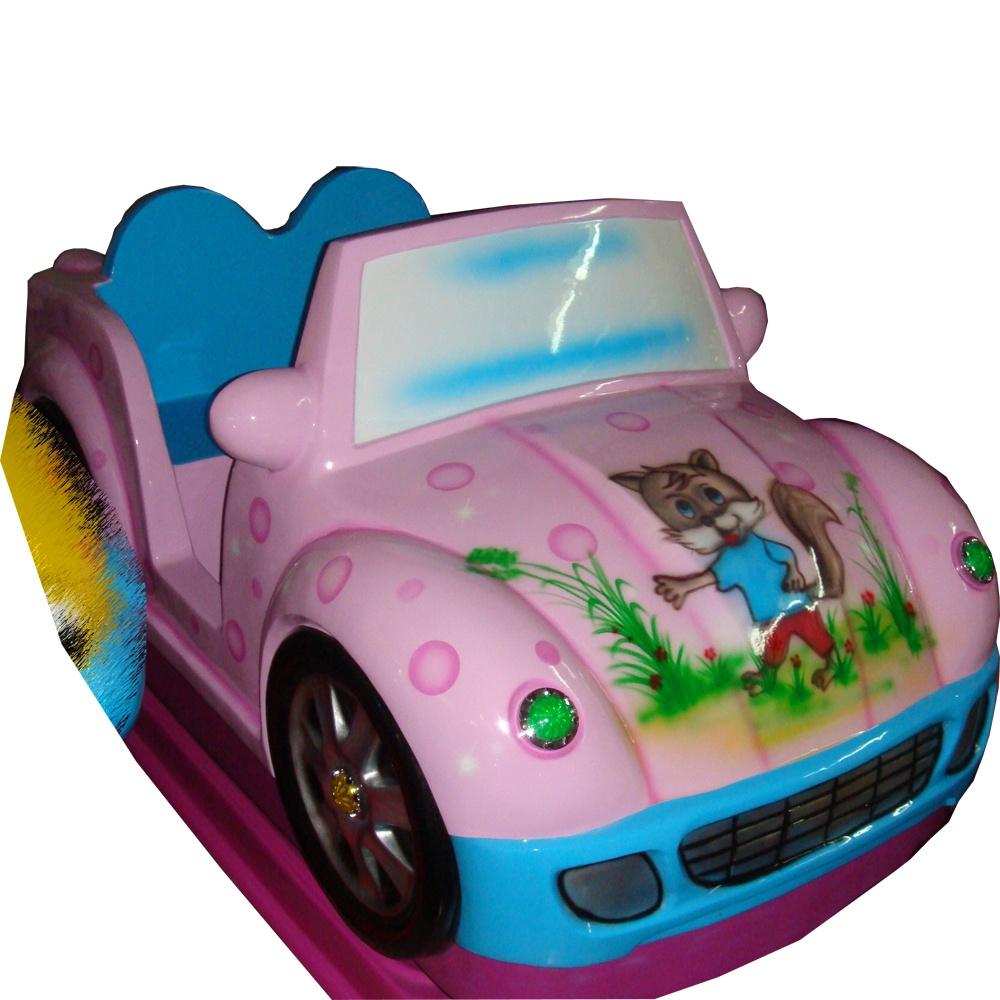 детская качалка Розовое Авто