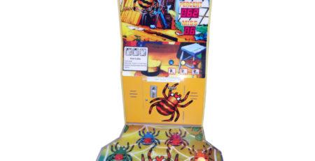 Развлекательный автомат редемпшн с выдачей билетов Раздави паука