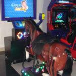 Игровой развлекательный автомат симулятор Jockey