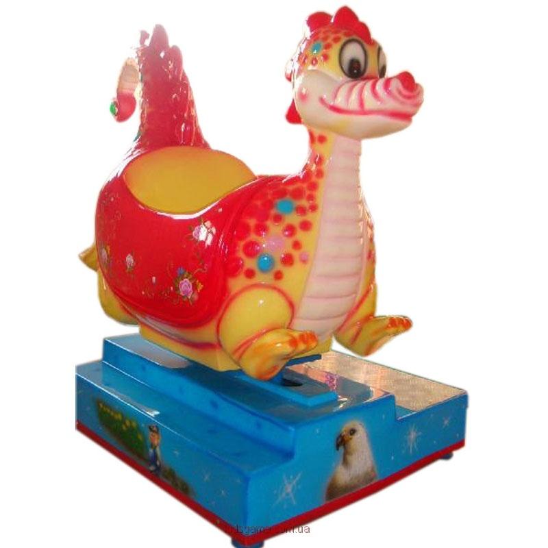 ттракцион — детская премиум-качалка Динозаврик
