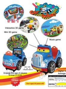 Детская интерактивная качалка Car School