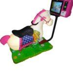 Детская интерактивная качалка Crazy Horse