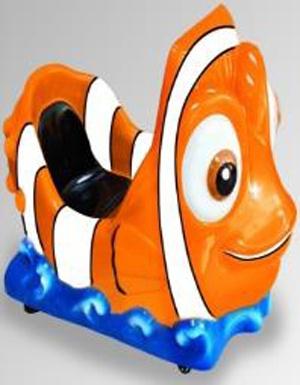 Детская интерактивная качалка Speed Fish
