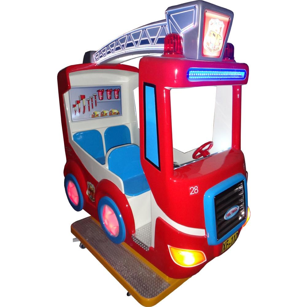 детская премиум-качалка Пожарная машина