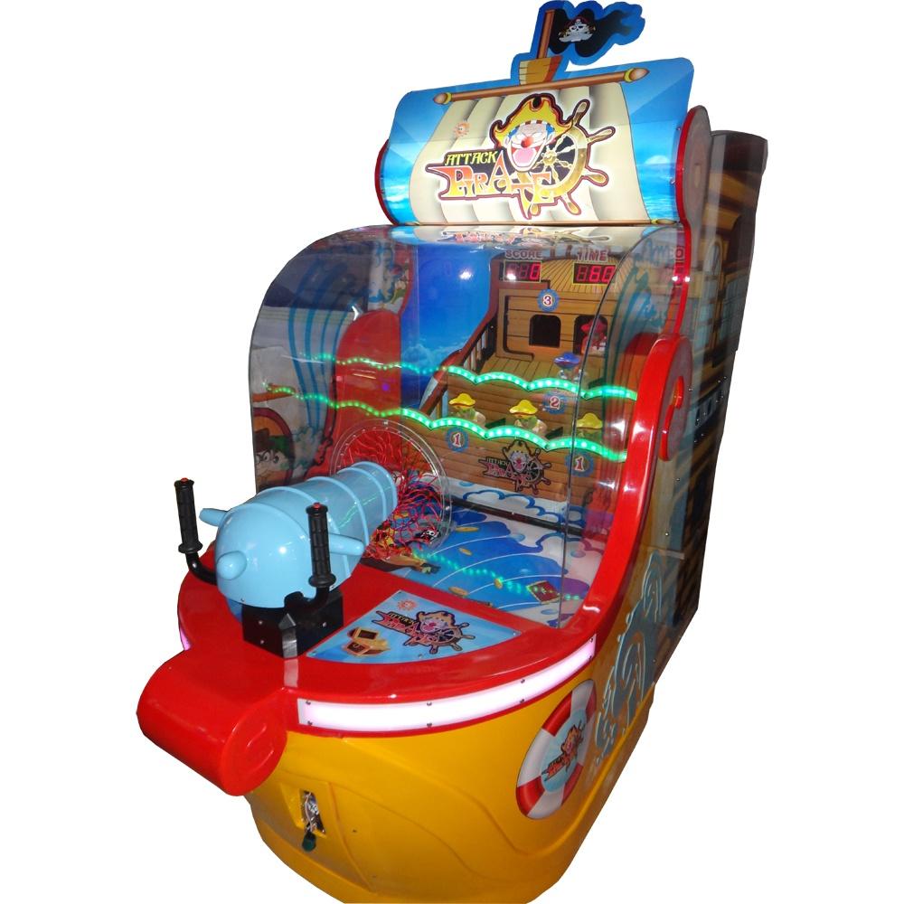 Развлекательный автомат редемпшн с выдачей билетов Пираты