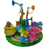 Детская карусель на 4 места Цветочки