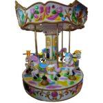Детская карусель на 6 мест Веселая шестерка