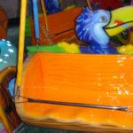 Детская карусель на цепочках Тукан