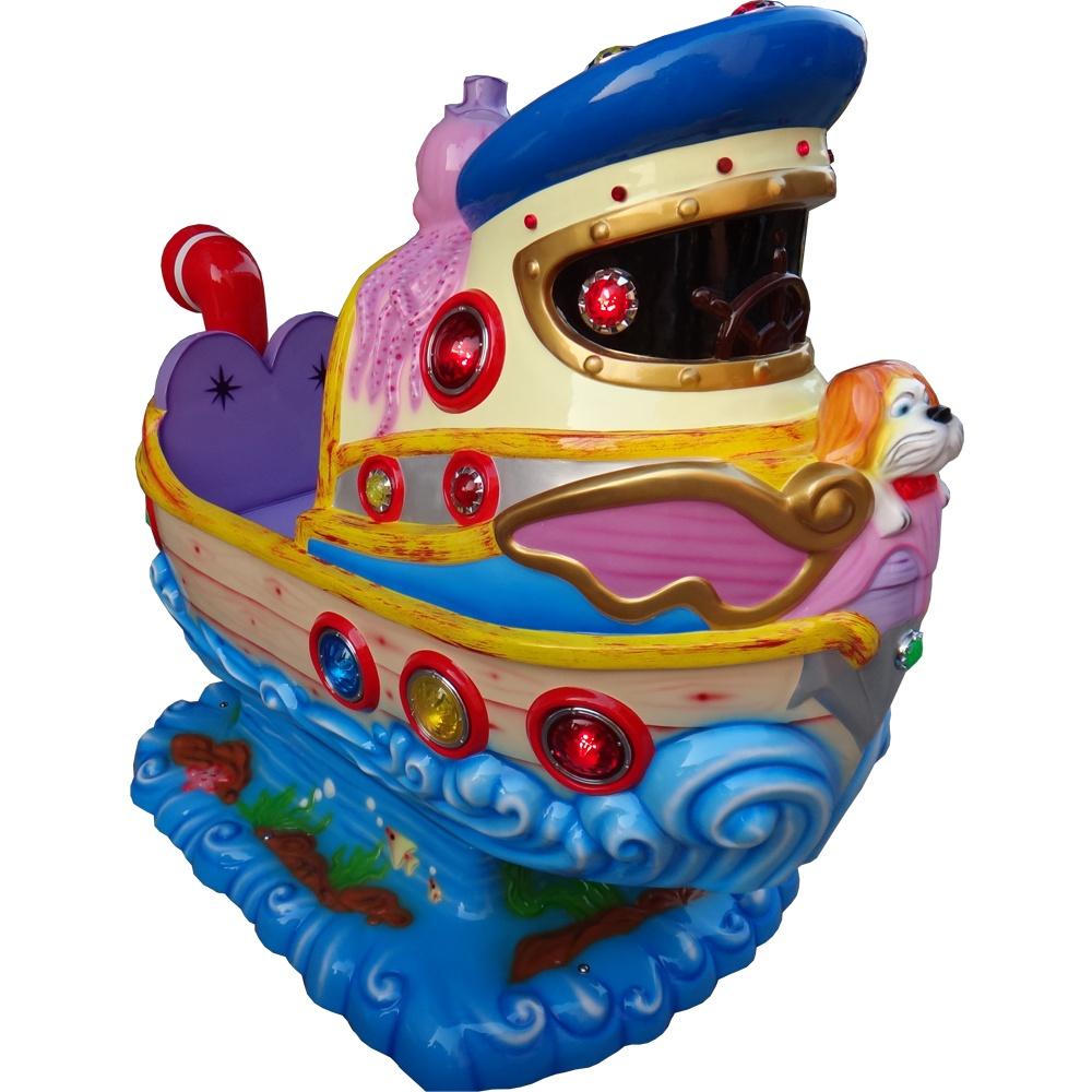 Детская качалка премиум Морской мир