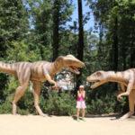 Парк динозавров в центре Европы